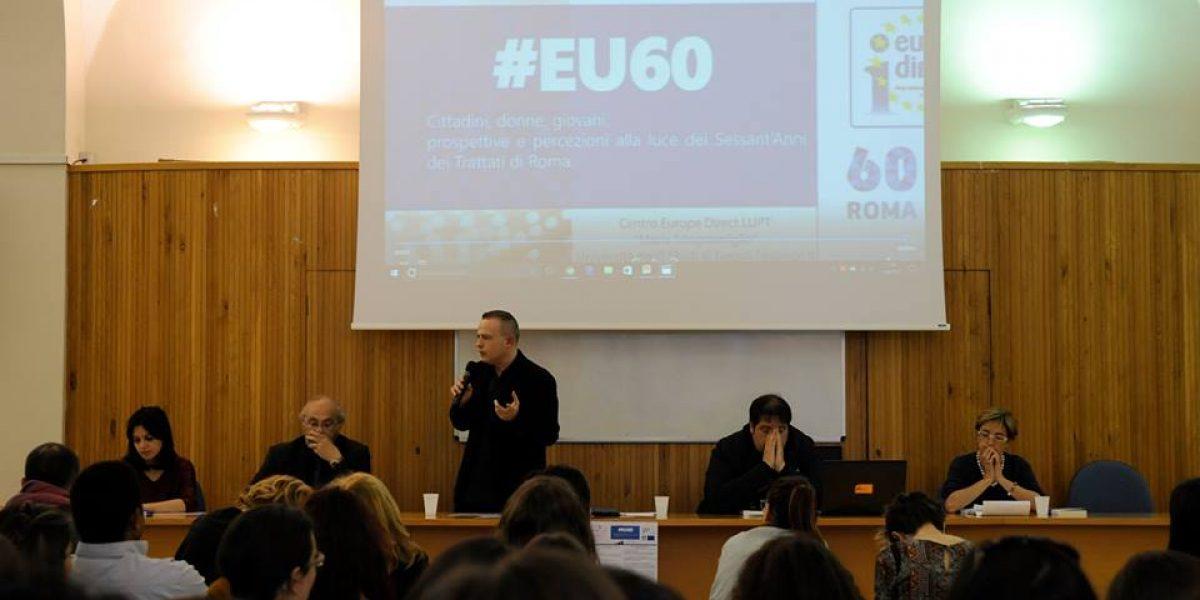 #EU60: i giovani e l'Europa